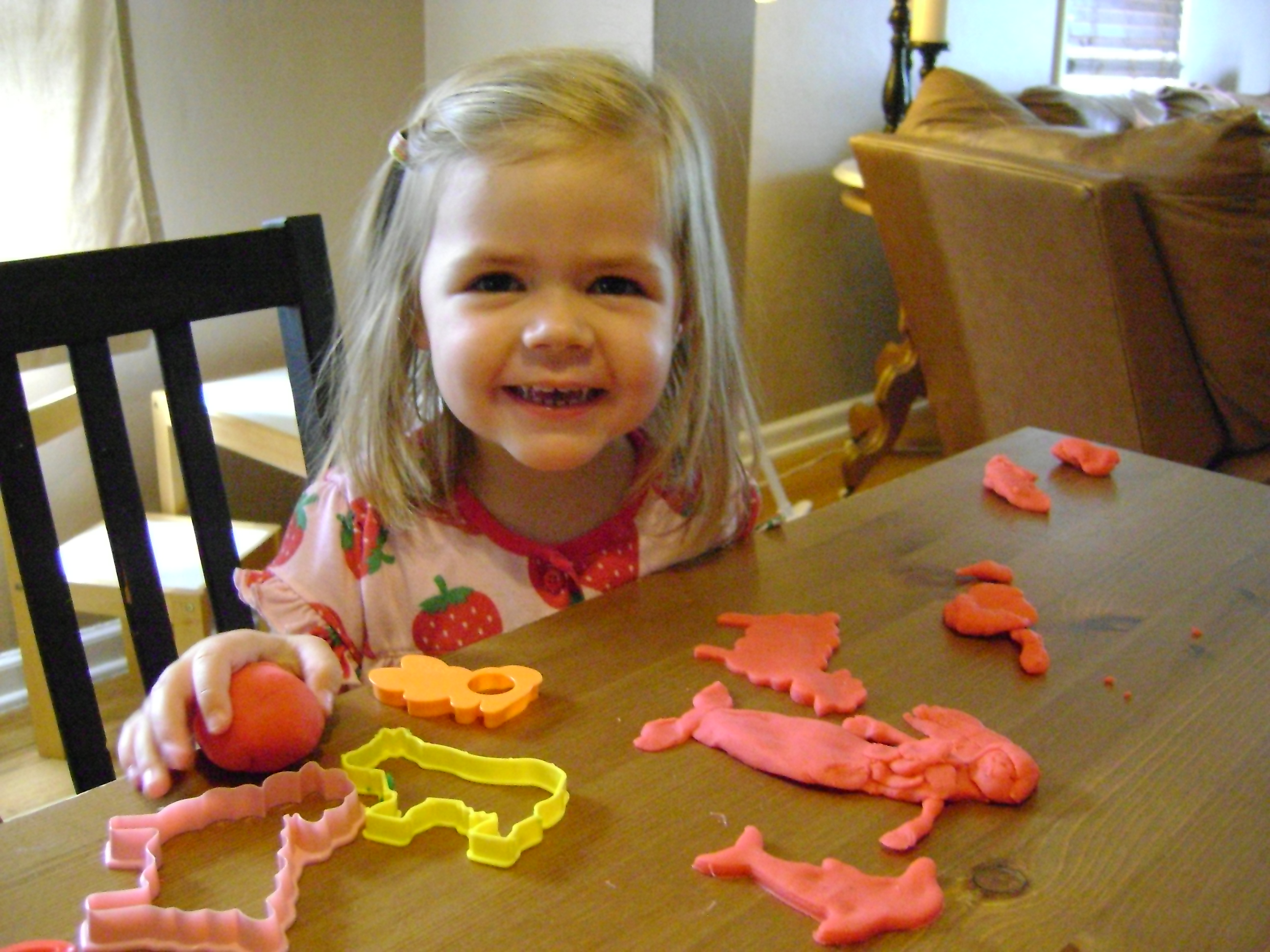 Toddler Boredom Busters and Homemade Play Dough