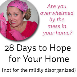 28 Days to Hope for Your Home!