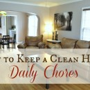 How To Keep A Clean Home: Daily Chores