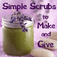 Simple Scrubs to Make and Give
