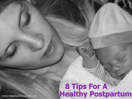 natural postpartum care