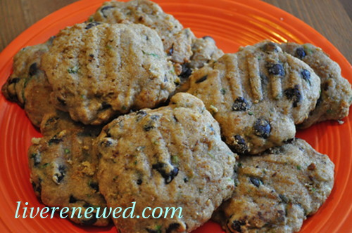 Zucchini Chocolate Chip Cookies