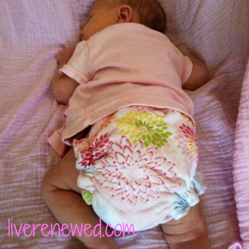 how to begin cloth diapering a newborn
