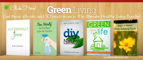 Green Living eBooks Included in the Ultimate Healthy Living Bundle!