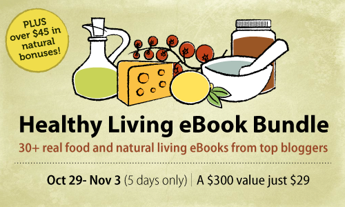 Healthy Living eBook Bundle Sale 