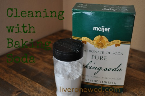 Green Clean Cleaning With Baking Soda