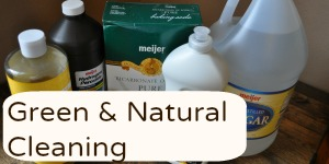 Green and Natural Cleaning