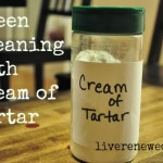31 Days to Green Clean: Cleaning with Cream of Tartar