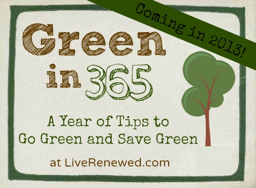 Green in 365 series: Coming Soon!