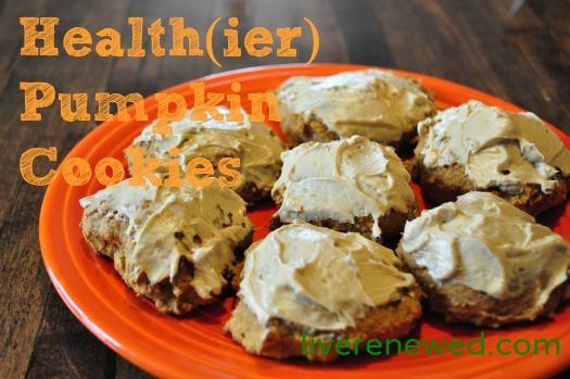 Healthier Pumpkin Cookies recipe