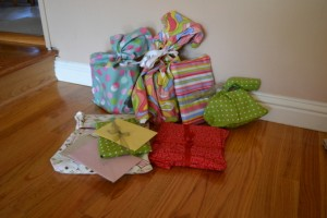 reduce, reuse, recycle while wrapping gifts