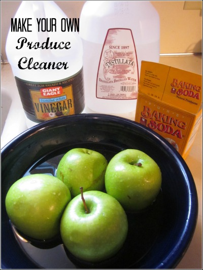 Make Your Own Homemade Produce Cleaner Green In 365
