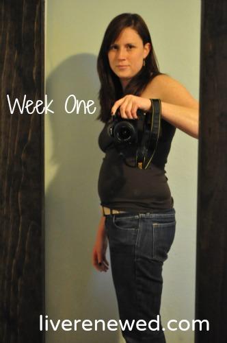 Fitness Challenge: Week One