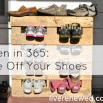 Green in 365: The Entryway – Take off Your Shoes