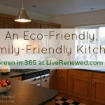 An Eco-Friendly, Family-Friendly Kitchen {Green in 365}