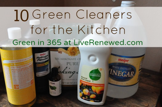 Tired of using chemical cleaners to clean your kitchen? Ditch the toxic cleaners and replace them with safe and effective green cleaners for the kitchen.