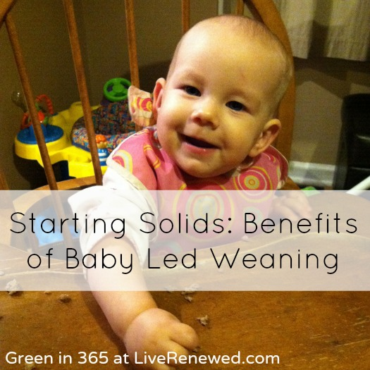 5 Benefits of Baby Led Weaning