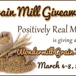 Wondermill Grain Mill Giveaway from Positively Real Media!
