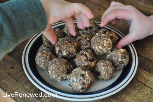 grain-free cookie dough bites