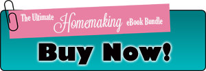 Buy Now Homemaking Ebook Bundle Sale