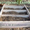 Ideas for Repurposed Garden Containers {Green in 365: Garden}