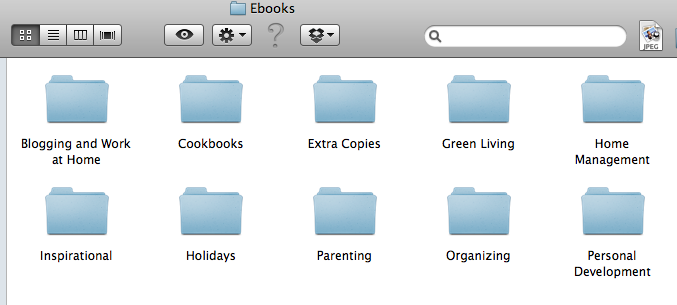 Organizing Your Ebook Library