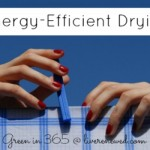 Energy-Efficient Drying {Green in 365: Laundry Room}