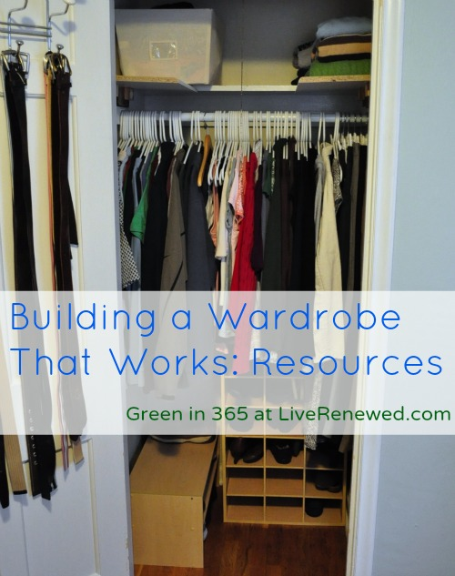 Building a Wardrobe that Works for You: Resources