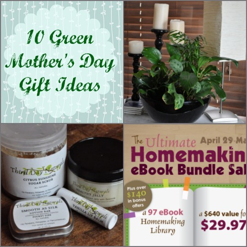 10 Great Green Mother's Day Gift Ideas!