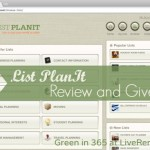 List Plan It Giveaway