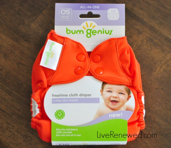 BG Freetime Diaper Review and Giveaway