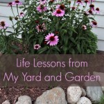 Life Lessons from My Yard and Garden {Green in 365: Outdoors}