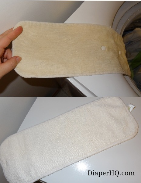 bumGenius 4.0 before and after dryer sheet build-up