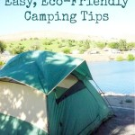 Easy, Eco-Friendly Camping Tips {Green in 365: Outdoors}