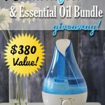 Humidifier & Essential Oil Bundle Giveaway!