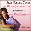 Free Nursing Cover-- $35 Value!