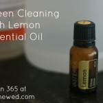 Green Cleaning with Lemon Essential Oil {Green in 365}