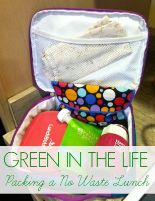 Green in the Life: Pakcing a no waste lunchbox