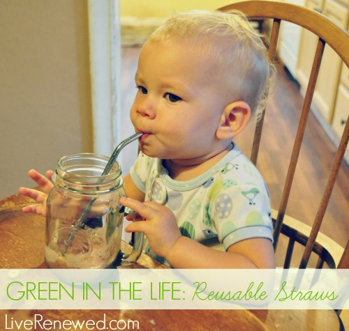 Green in the Life: Reusable Straws