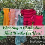 Choosing a Clothesline that Works for You {Green in 365: Laundry}