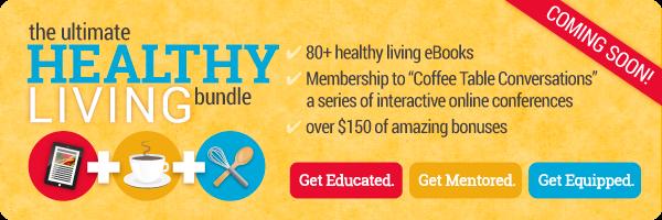 Ultimate Healthy Living Bundle - Ebooks, Mentoring, Bonus Products!