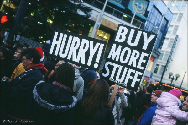 Should Christians Love Shopping?