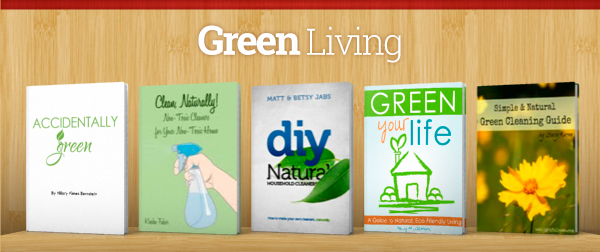 Green Living eBooks in the Ultimate Healthy Living Bundle