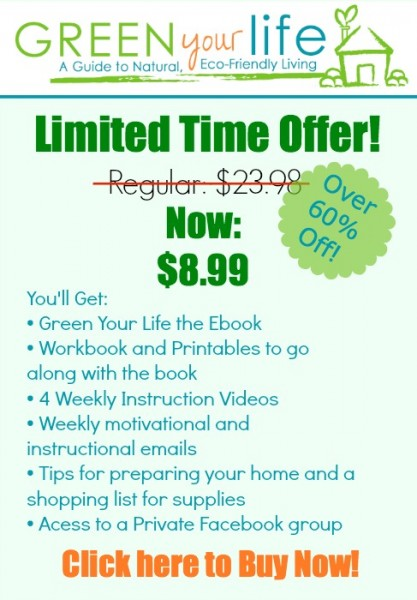 Limited Time Offer! Green Your Life Ebook and Challenge, February 2014