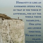 Our lives are linked together. -Frederick Buechner quote from LiveRenewed.com