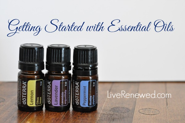 Getting Started with Essential Oils and a doTERRA Intro Kit Giveaway! at LiveRenewed.com
