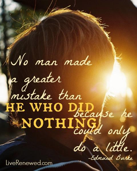 Edmund Burke Quote at LiveRenewed.com