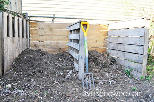 get started composting from LiveRenewed.com