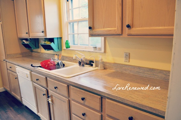 How clearing my kitchen counters changed my life at LiveRenewed.com