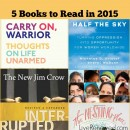 5 Books to Read in 2015!